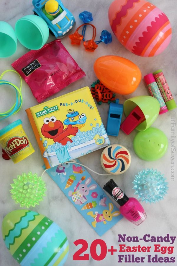 20 Non Candy Easter Egg Filler Ideas Great Ideas For