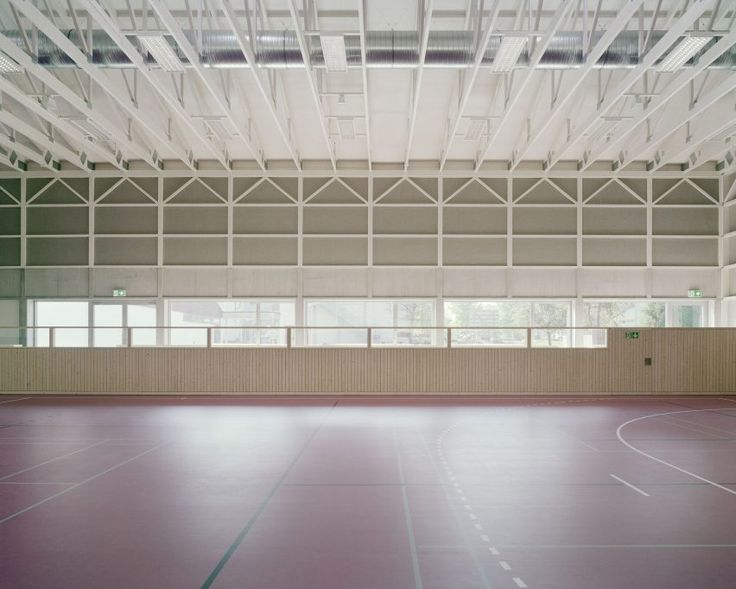 Sports Hall Haiming by Almannai Fischer