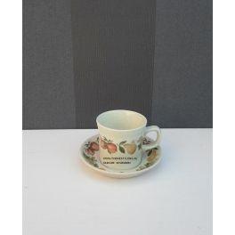 koffiekop en schotel Wedgwood Quince