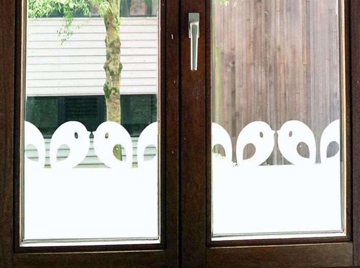 Raamfolie met vogeltjes | Tis Lifestyle