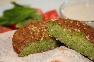 Egyptian Falafel recipe ~~looks like this is made with Fava beans