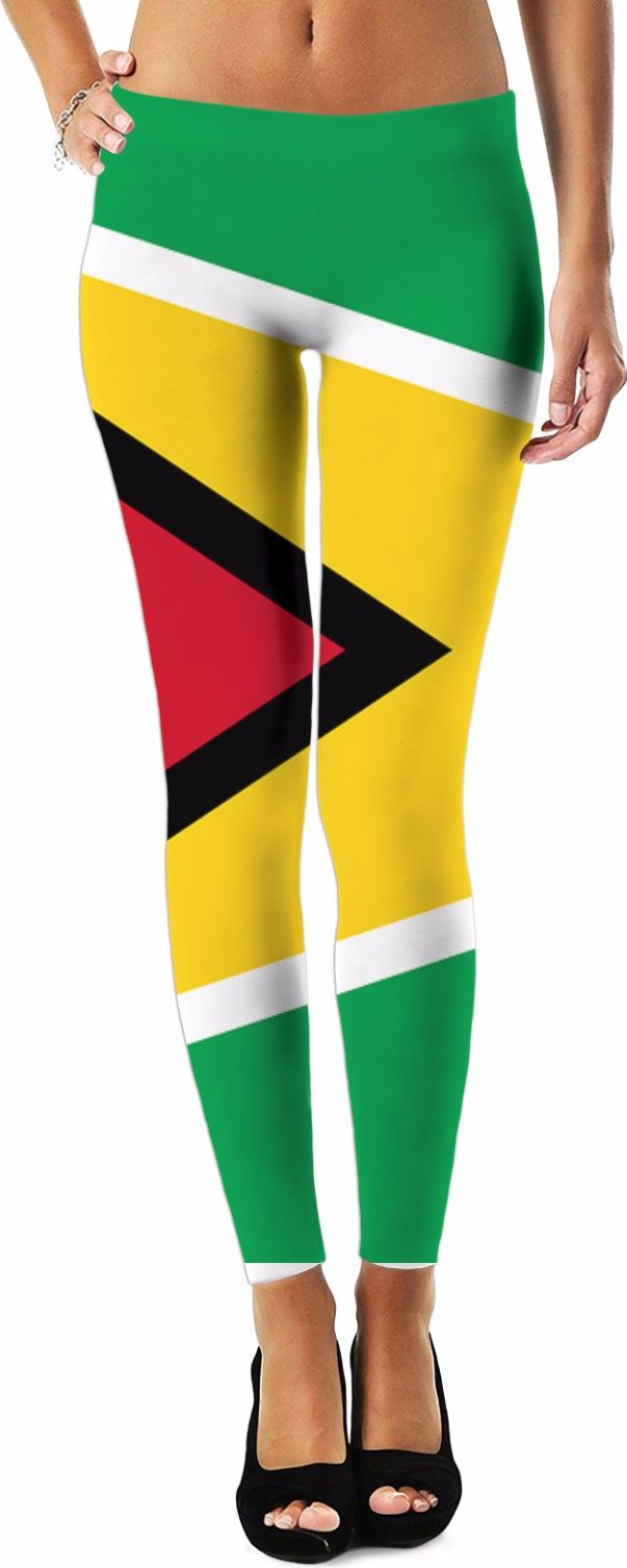 Guyana Flag Leggings. To see the rest, choose the leggings and look below for more Guyana Flag Clothing, Guyana Flag Dress, Guyana Flag Shorts, Guyana Flag Tshi