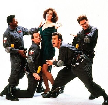 The cast of Ghostbusters 2 #ghostbusters