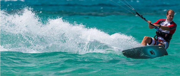 Safe beach, Meltemi wind, Glyfada Beach Naxos, Greece - Naxos Kitesurf Club