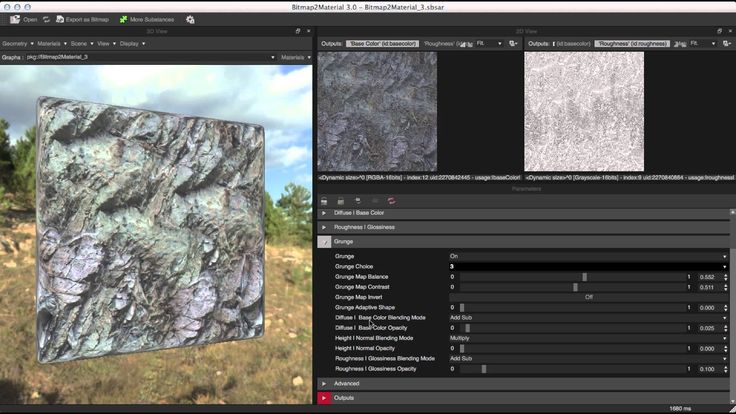 Learn how to use B2M 3 to generate full, seamlessly tiling PBR materials from any bitmap image. More info on http://www.allegorithmic.com