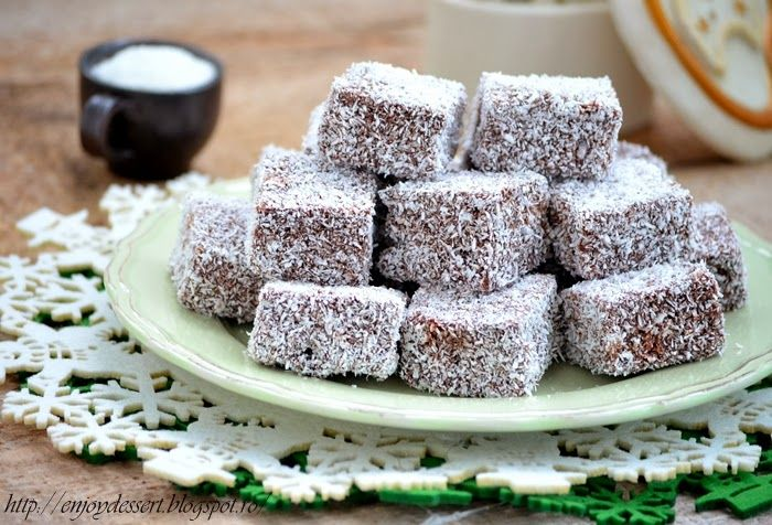 Enjoy Dessert!: Prajitura tavalita - Lamingtons
