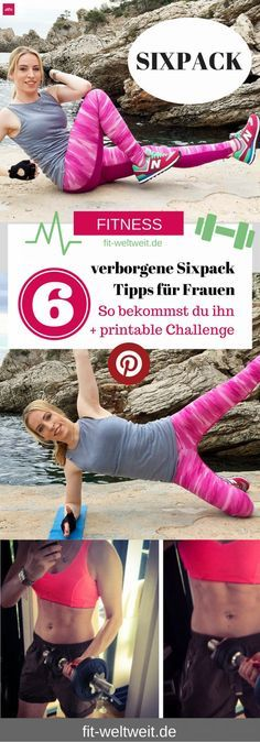 Sixpack bekommen Tipps für Frauen, schlank sein und abnehmen am Bauch, Sixpack Body bei einer Frau, SIXPACK-CHALLENGE-30-Days-ABS-ab, Sixpack bekommen Tipps für Frauen, 30 Tage Challenge: Bauch Beine Po – #Sixpack, ABs & Squads