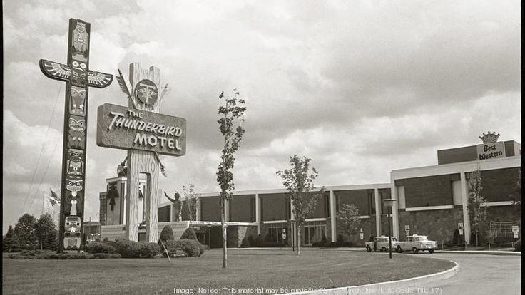 A picture of the Thunderbird Motel in 1967. Now called Ramada MSP Airport at Mall of America, the hotel will be demolished as soon as this summer.