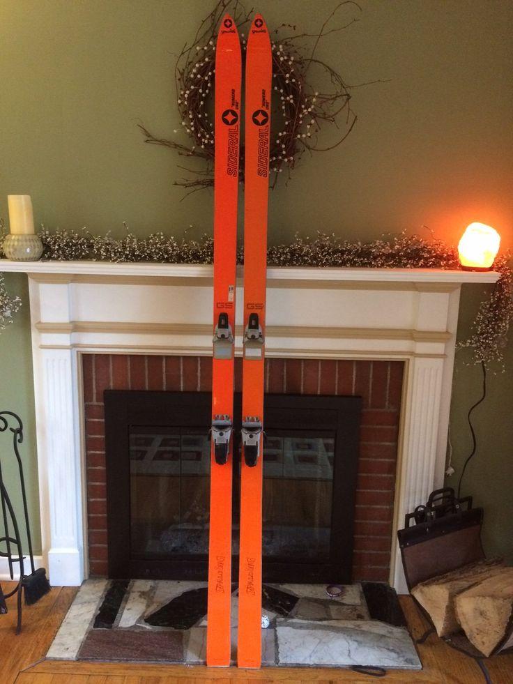 "Vintage Snow Skis For Sale: Spalding SIDERAL ""Numero Uno"" 215cm GS Tyrolia 360"