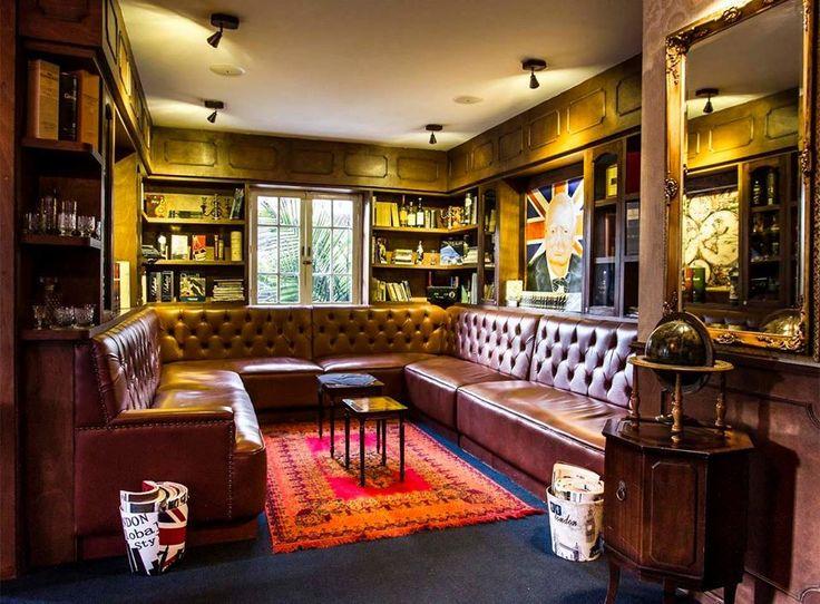 Espacios inesperados en Daniel, Churchill Library, un lugar diferente para tus reuniones!!  http://daniel.com.co/daniel_casa_73
