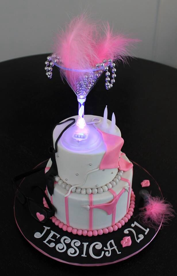 14 Best Images About Gabby 21st Birthday Cake Ideals On