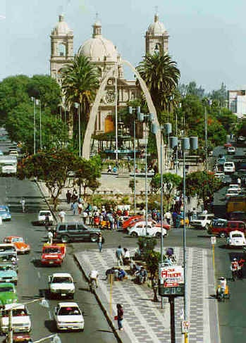 never forget where you came from. tacna, peru