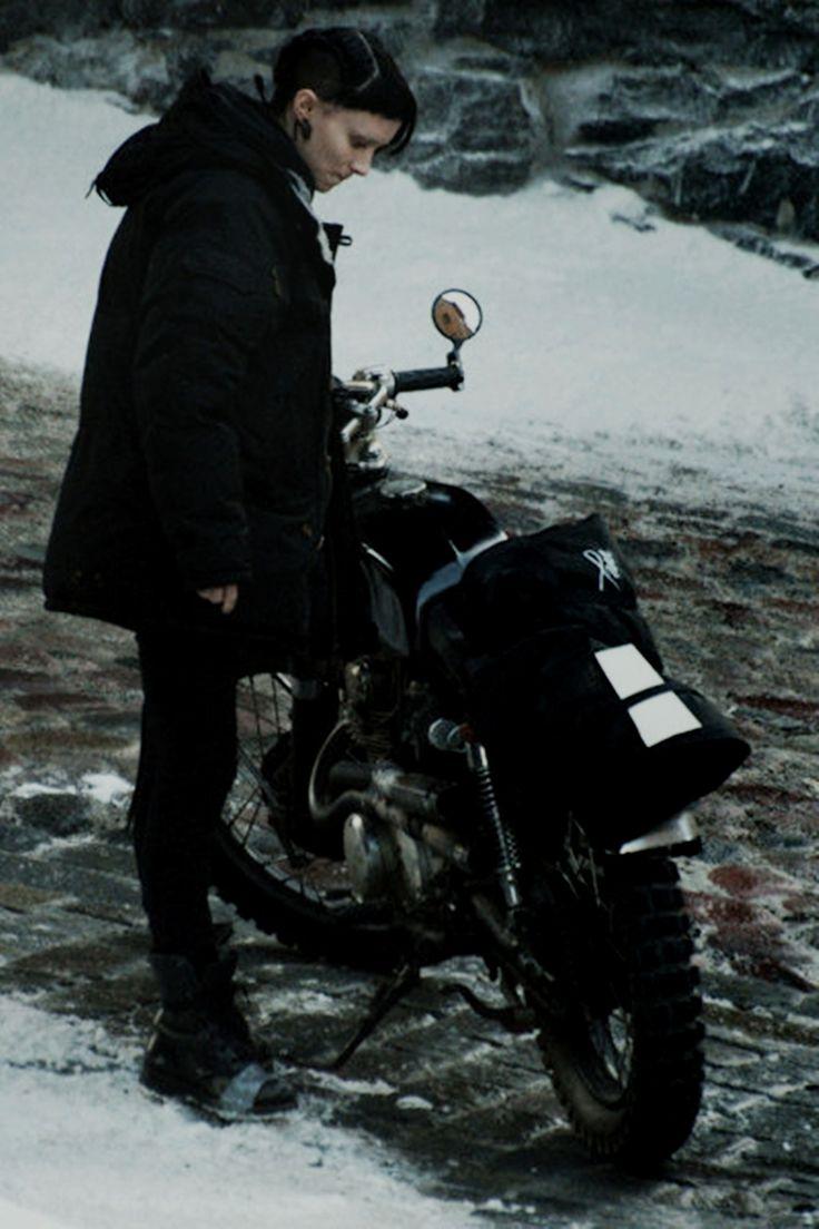 Lisbeth Salander (Rooney Mara) - Girl with the Dragon Tattoo LisbethSalanderGear.com