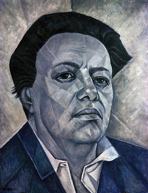 Portrait of Diego Rivera, 1960  Marevna (Marie Vorobieff)