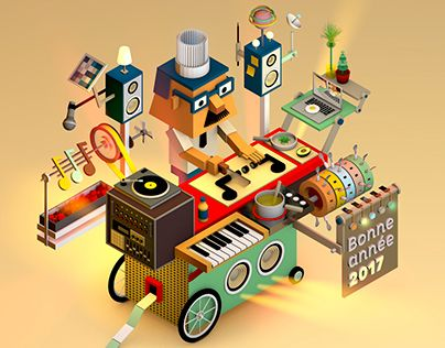 """Check out new work on my @Behance portfolio: """"3D ILLUSTRATIONS"""" http://be.net/gallery/47085331/3D-ILLUSTRATIONS"""