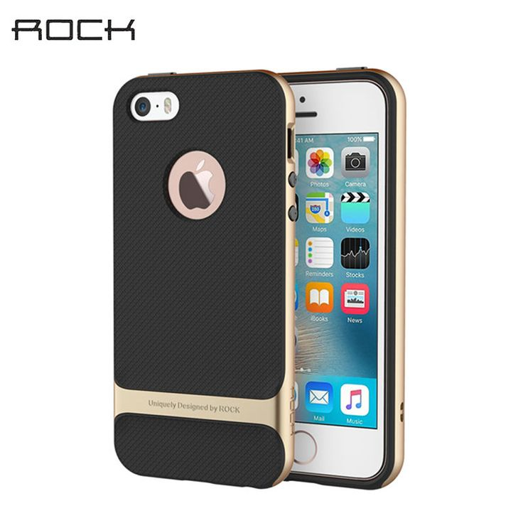 For iPhone 5S iPhone SE Case Royce Series Luxury Slim Armor Phone Cases Capa For Apple iPhone 5 5S Se Back Covers TPU+PC