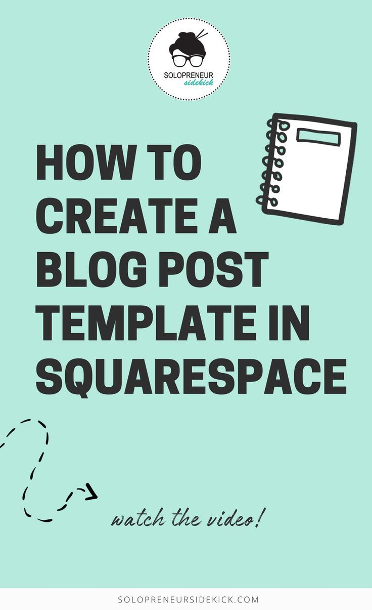 squarespace blog template i love figuring out ways to save you