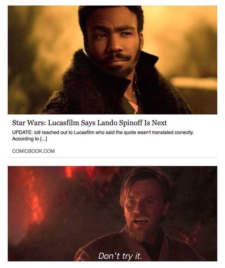 Not Yet If You Enjoyed This Post Tag Another User Starwars Prequel Memes Dank Reddit Anakin Obiwan Palpatine Star Wars Obi Wan Memes