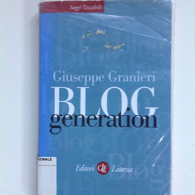 Mammavvocato: Blog Generation: la mia opinione e un saggio per saperne di più.
