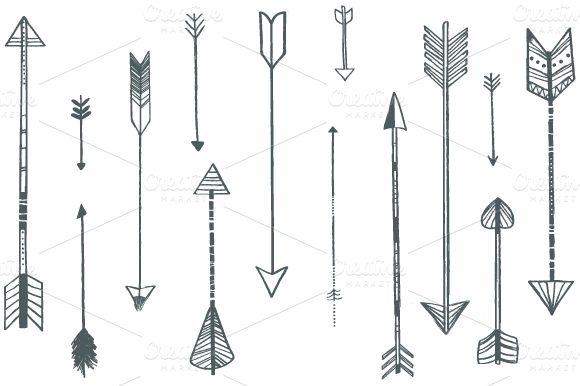 Arrow Illustrations | Creative Market