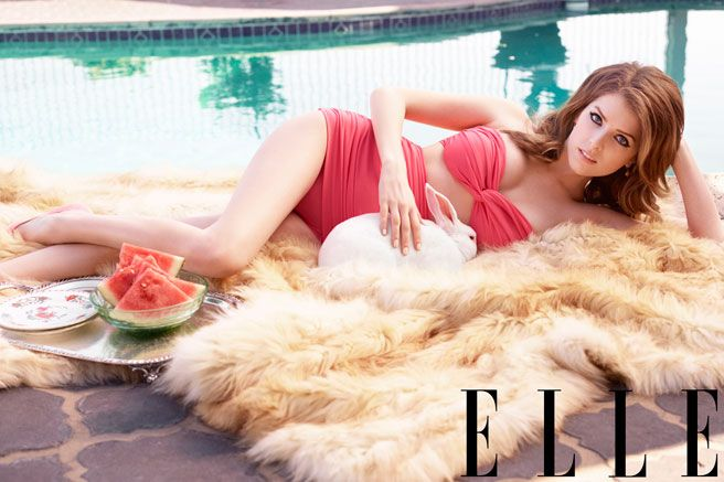 Why Anna Kendrick Is the Sexiest and Savviest Social Media Star of Her Generation: Anna Kendrick Quotes - Anna Kendrick July 2014 Cover Shoot - Elle