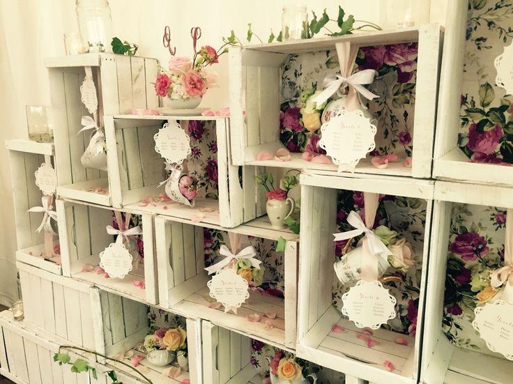 Tableau de mariage - particolare #peperosedesign#wedding#shabby