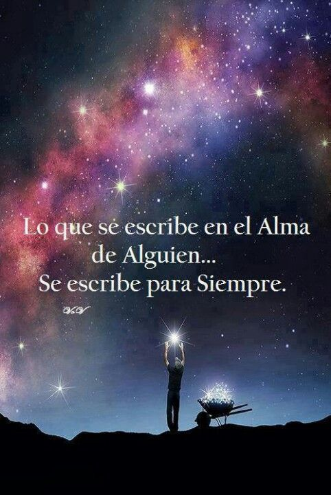 Escribiendo en el alma | Frases | Pinterest | Stars, Art and Quotes