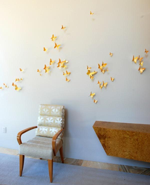 how to make paul villinski butterflies