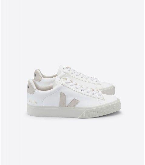 Veja Sneaker Herren Campo Leather White Natural in 2020