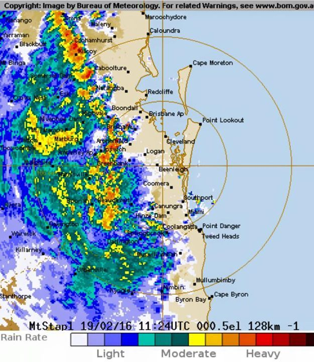 BoM Severe Thunderstorm Warning for Damaging Wind and Heavy Rainfall for our area. Not sure our cone of protection can withstand this size however! - http://ift.tt/1HQJd81