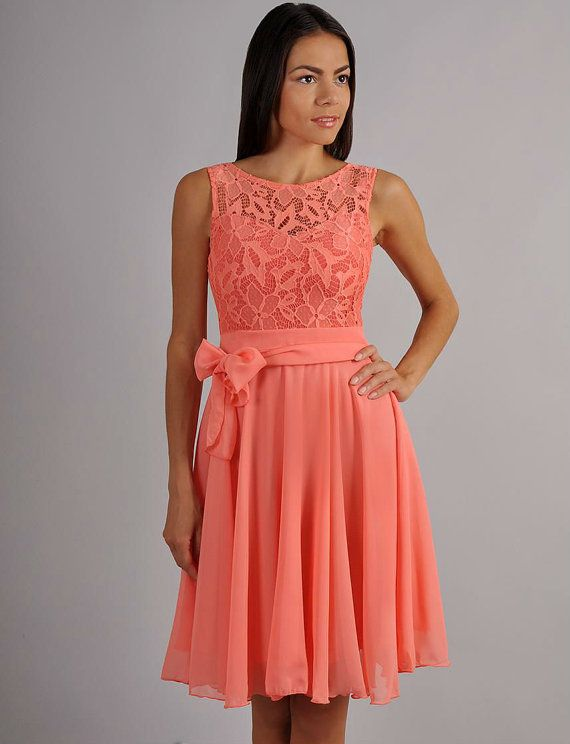 Coral Cocktail Dresses