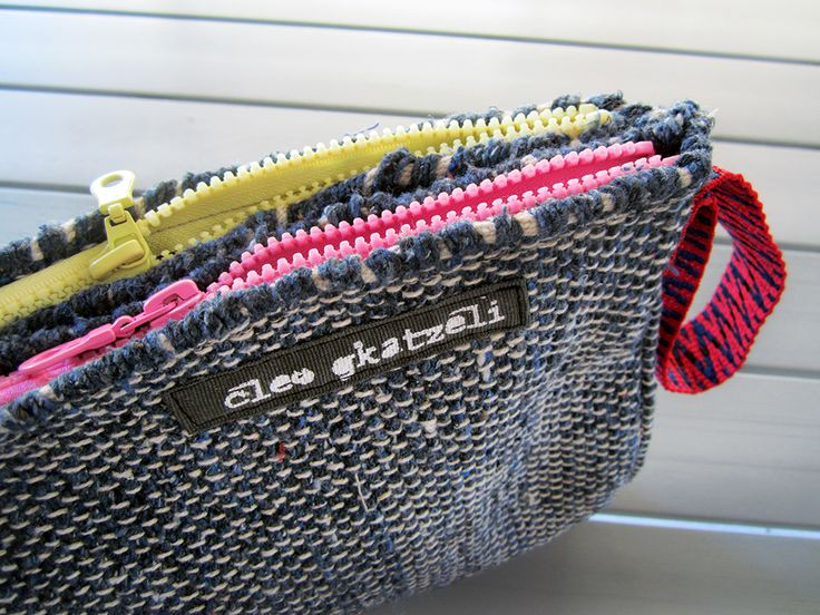 #2zipper #beach #clutch #available @ www.cleogkatzeli.com  http://www.gkatzeli.com/product-category/beachwear/bags/2-zippers-clutches/