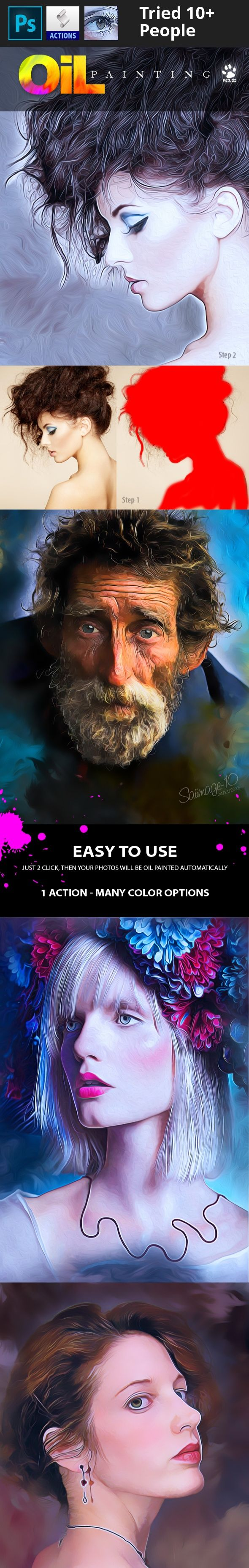 action, actions, artist, creative, digital Pencil, drawing, effects, freehand sketch, gradient, images, light, oil, oil paint, paint, pencil, pencil sketch, photoshop, psd, sketching, soft, vintage Just install and play action for awesome Oil effects.   	Included File  1. ATN File  2. Help File  3. Info File  Note   	Only works on ENGLISH VERSION PHOTOSHOP CS6+   	Change language to English click TUTORIAL   	Preview Image not included.
