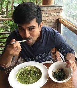 Ram charan turnsvegetarian for dhruva