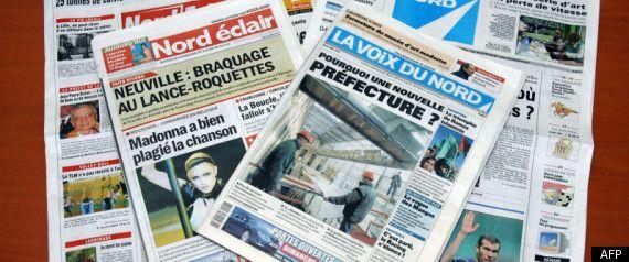 les salariés des deux quotidiens régionaux Voix du Nord et Nord Eclair et du gratuit Direct Lille ont approuvé en assemblée générale à environ 80% la fusion de leur rédaction