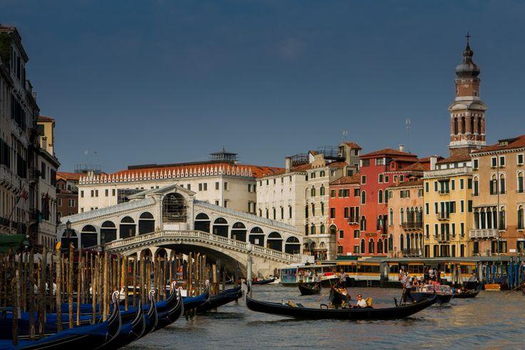 Il Canal Grande, il Ponte di Rialto, Venezia by sir20