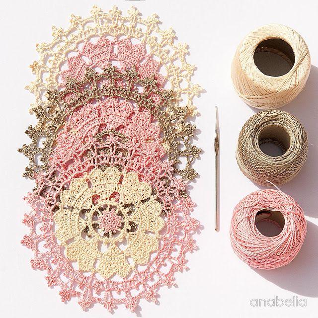 Valentine's Day crochet doily                                                                                                                                                                                 More
