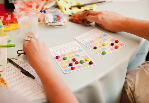 Baby Bingo | 30 Baby Shower Games That Are Actually Fun
