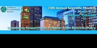 덴버 미국 심신 의학회 APS 2016 American Psychosomatic Society Annual Scientific Meeting