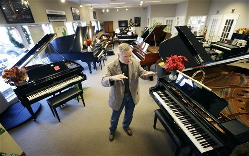 "Piano stores closing as fewer children taking up instrument. When... opened his piano store 30 years ago, he had 10 competitors selling just pianos. When he closed Foster Family Music in late December, not one was still selling pianos in the Quad-Cities area of Iowa and Illinois. The best year for new piano sales in the U.S. was 1909, when more than 364,500 were sold.  ""People are interested in things that don't take much effort,... 1/2/14"