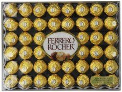 Ferrero Rocher 48-Count Chocolate Gift Box for $11  free shipping w/ Prime #LavaHot http://www.lavahotdeals.com/us/cheap/ferrero-rocher-48-count-chocolate-gift-box-11/134417