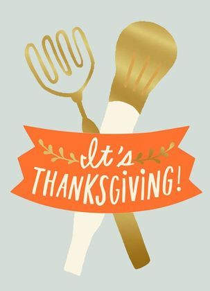 For the Cooks Funny Thanksgiving Card | Inspire the chefs in your life! Dig out those turkey basters and potato mashers for yet another outstanding Thanksgiving feast!