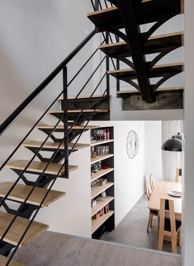 les 7 meilleures images du tableau amenagement demi niveau sur pinterest escaliers id es pour. Black Bedroom Furniture Sets. Home Design Ideas