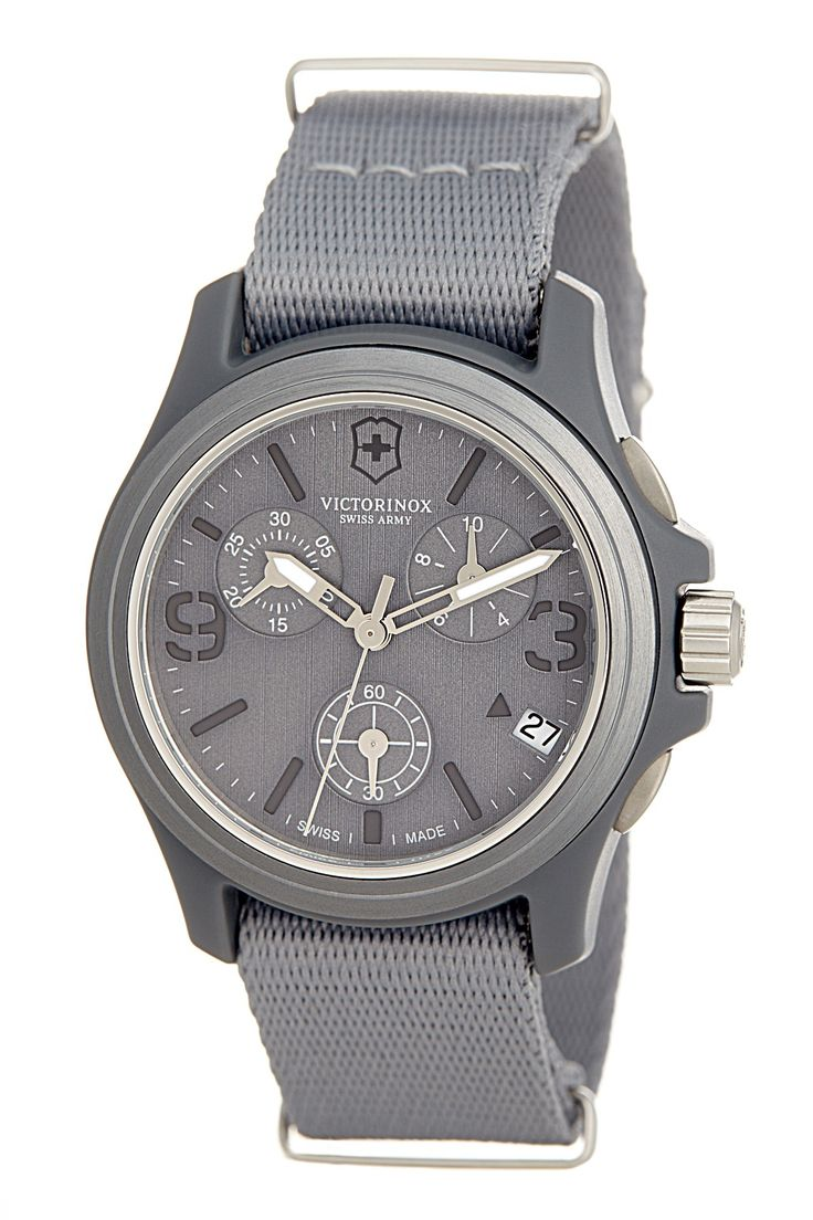 Victorinox Swiss Army Men's Original Chronograph Watch by Victorinox Swiss Army on @nordstrom_rack