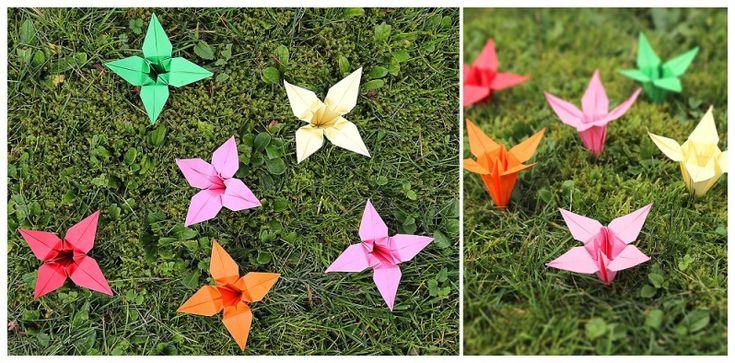 Der Countdown geht zu Ende: Faltanleitung für Origami-Lilien | Verrückt nach Hochzeit