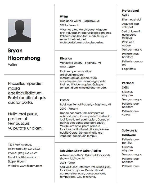 7 best Work images on Pinterest Beautiful, Cv examples and Free - michigan works resume builder