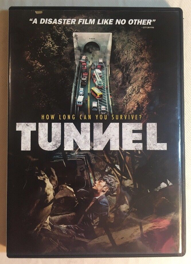 Tunnel DVD Korean - English Subtitles Available Disaster Film