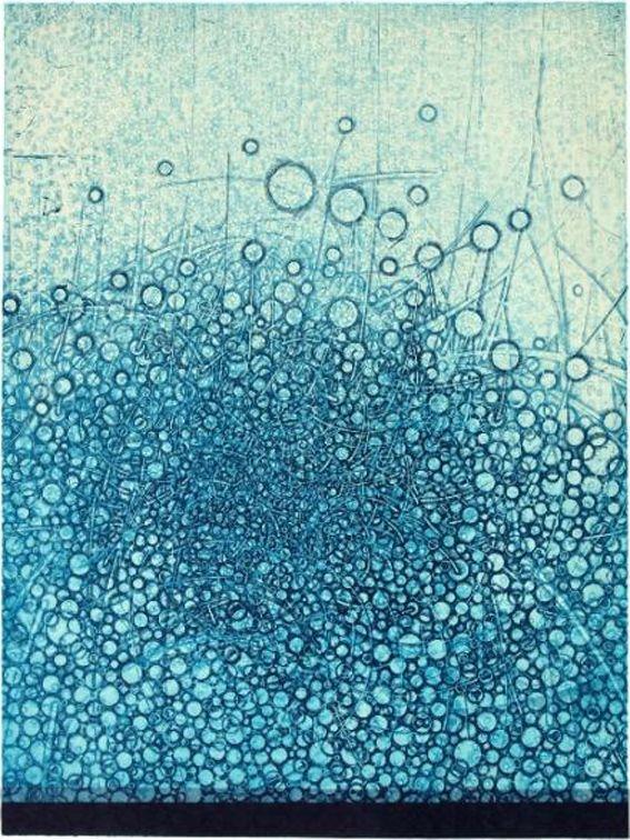 Takahiko Hayashi | on Tumblr (b.1961, Japan) - The Unformed Figure - Flexible Objects. Print etching, 24x18 inches (2010)Prints Etchings, Unformal Figures, Inspiration, The Artists, Pattern, Google Search, Flexibility Object, Takahiko Hayashi Drawing, Blue Art