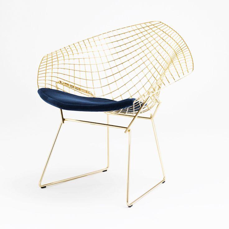 diamond chair // harry bertoia // 1952 // grosse stuhlliebe, Attraktive mobel