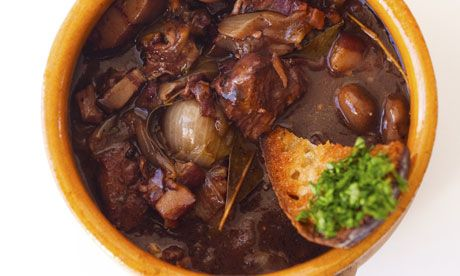 Nigel Slater's classic boeuf bourguignon recipe  Don't get into a stew over this hearty beef dish